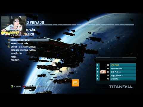 TITANFALL XBOX ONE Vamos por el nivel 30!! en VIVO!