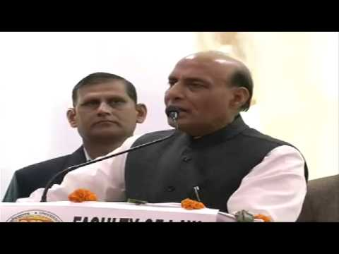 Shri Rajnath Singh on The Idea of Good Governance at Delhi University (Faculty of Law)
