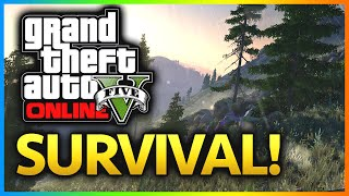 GTA 5: THE FOREST GTA V Realism Survival Part 2 (GTA 5