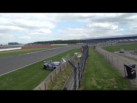 Adrian Newey Crashed his Lamborghini Super Trofeo at Silverstone