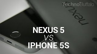 IPhone 5s Vs Nexus 5