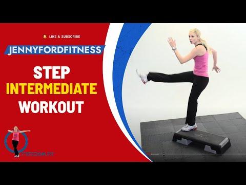 STEP AEROBICS - 'Step by Step 2' - JENNY FORD