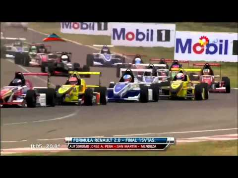 Start Big Crash @ 2013 Formula Renault Argentina San Martin
