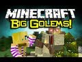 Minecraft: BIG GOLEM MOD Spotlight! - Mo' Creatures = Epic Mobs! (Minecraft Mod Showcase)