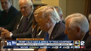 Local leaders weigh in on Trump calling Haiti, Africa 's***hole countries'