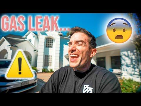 My house has a gas leak...*DANGEROUS*