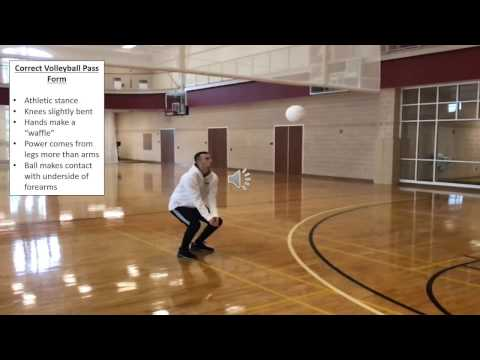 How to do a Volleyball Pass
