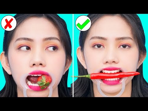 16 GENIUS FOOD HACKS AND FUNNY TRICKS | TRUTH or DARE IN PUBLIC! FUNNY DIY CHALLENGE GAMES by T-FUN