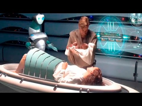 Star Wars Episode III - Birth of Luke & Leia Skywalker and separation of them HD