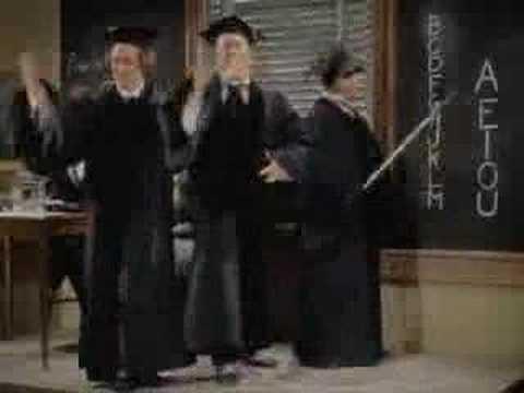 Three Stooges - Swingin' the alphabet