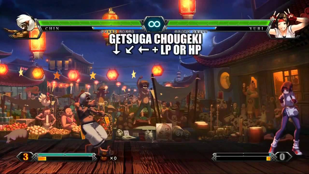 King of fighters xiii all character skill list 720p hd youtube - King of fighters characters pictures ...