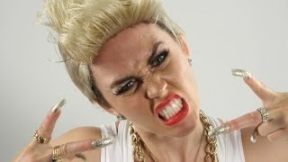 Miley Cyrus We Can't Stop PARODY!! Key Of Awesome #74