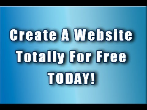 How to create a free website using notepad