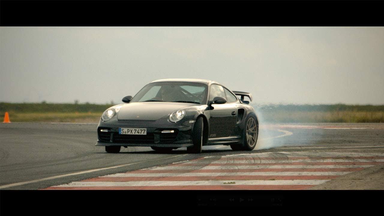drifting nissan juke r porsche 911 gt2 rs car and driver youtube. Black Bedroom Furniture Sets. Home Design Ideas