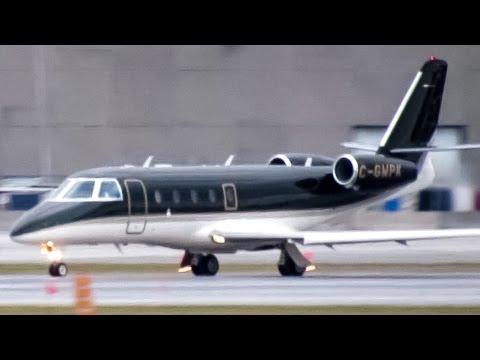 Fast Air Gulfstream G150 departing Montreal (YUL/CYUL)