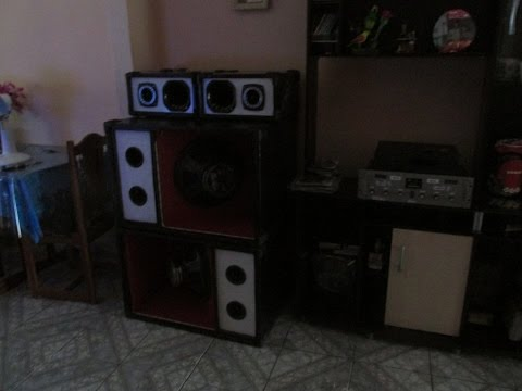 Som Feito em Casa com amplificador caseiro de 1000w