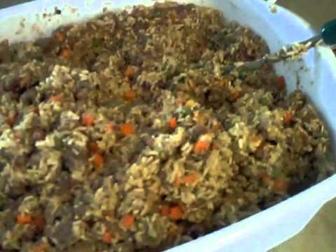 how to make homemade dog food with turkey