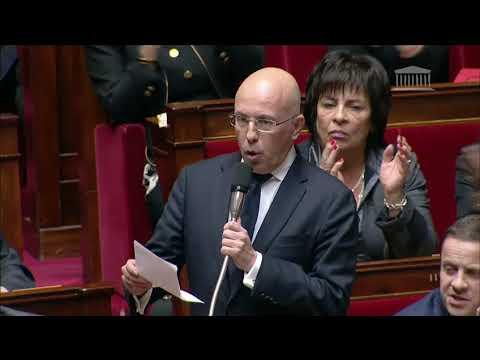 M. Éric Ciotti - Conditions de travail des forces de sécurité