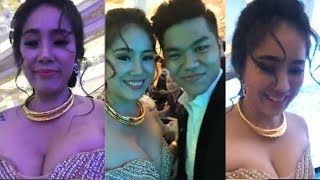 Cô dâu Lê Phương khoe vòng 1 ngồn ngộn thế này, bảo sao ông xã kém 7 tuổi nhất quyết đòi cưới