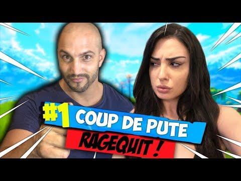 FORTNITE COUP DE P*TE EN COUPLE ! JE REFAIS RAGER PINKGEEK ! #2
