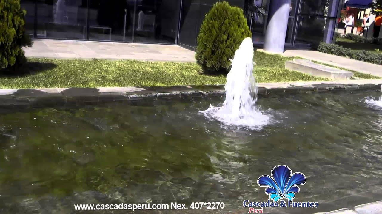 Cascadas artificiales piletas muro llor n velo de agua for Lagunas artificiales construccion