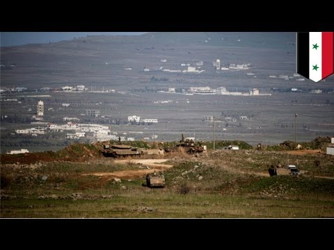 Israel opens fire on Hezbollah fighters at Syria border