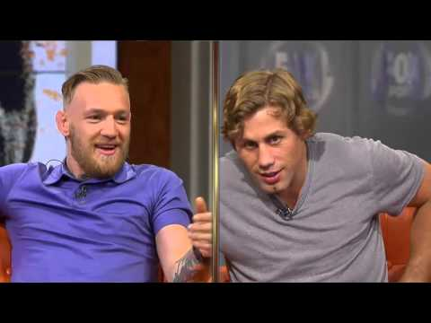 Conor McGregor and Urijah Faber get testy, predicts Dillishaw's Departure UFC Tonight interview