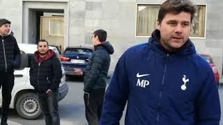 Juve-Tottenham, Pochettino a passeggio per Torino