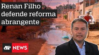 Renan Filho defende investimento privado no saneamento básico