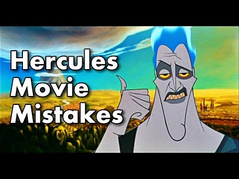 Disney's Hercules Movie MISTAKES | Hercules Goofs You Didn't See.