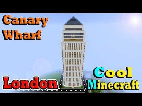 Minecraft Canary Wharf