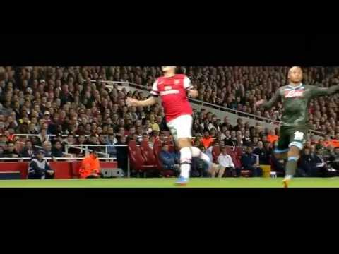 Mesut Özil vs Napoli (Home) 13-14 HD 720p by CR10