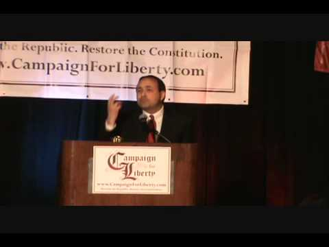 Thomas Woods Speech - Nullification! C4L...
