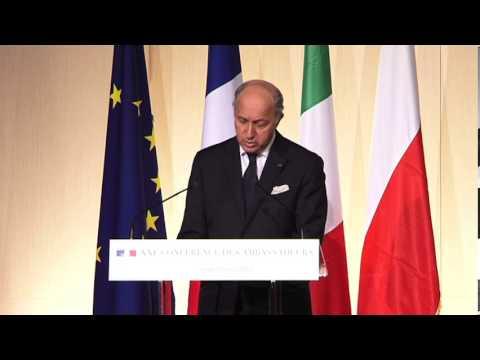 XXIE Conférence des ambassadeurs: discours de clôture de Laurent Fabius (29/08/2013)