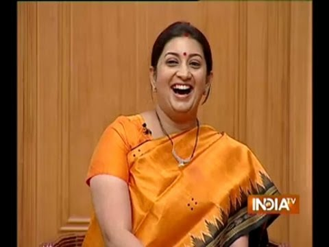 I can never be compared to Sushma Swaraj, says Smriti Irani in Aap Ki Adalat