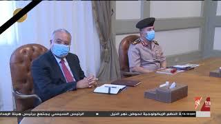 الرئيس السيسي يطلع على مخطط مشروع مرابط