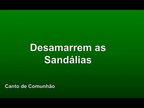 Tempo Comum - Desamarrem as Sandálias