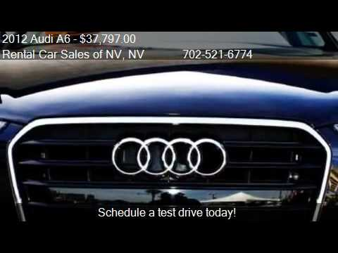 2012 Audi A6 2.0 Turbo Premium Plus - for sale in Las Vegas,