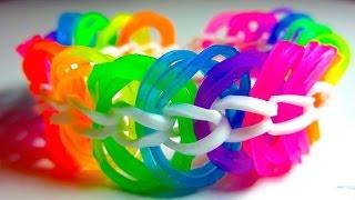 How To Make A Triple Link Chain Rainbow Loom Bracelet