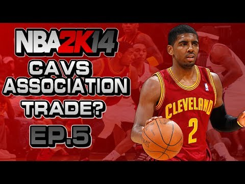 NBA 2K14 Association Ep.5 - Cleveland Cavaliers | TRADE DION WAITERS? | CLOSE GAME ft. Josh Smith