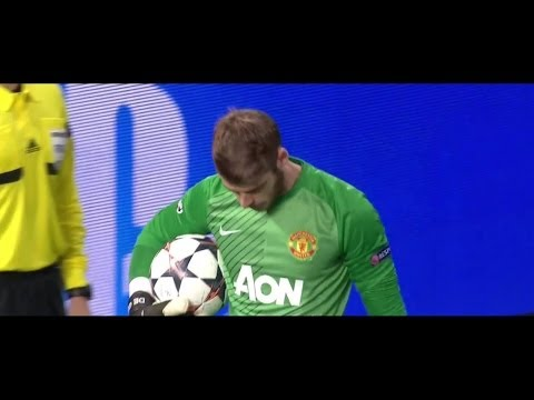 David De Gea Vs. Bayern Munich 13-14 [Home] [HD 720p]