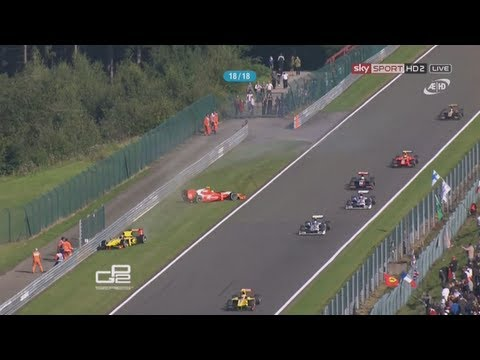 GP2 in Action - (Crashes,Wrecks,Slow Motion)