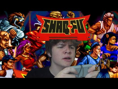 SHAQ-FU - O terror das quadras, e do Super Nintendo!