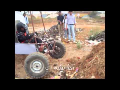 BAJA SAEINDIA 2012-13 Technical College Inspection :TEAMKIIT Bhubanesw