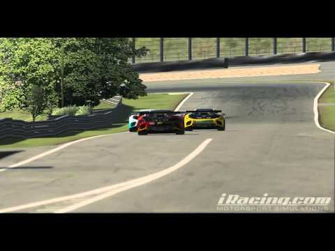 iRacing Grand Am Sports Car Series 50mins Race Highlight @ Interlagos