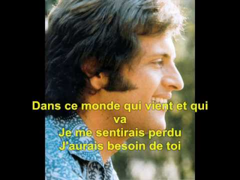 Et Si Tu N'Existais Pas - Joe Dassin - Lyrics