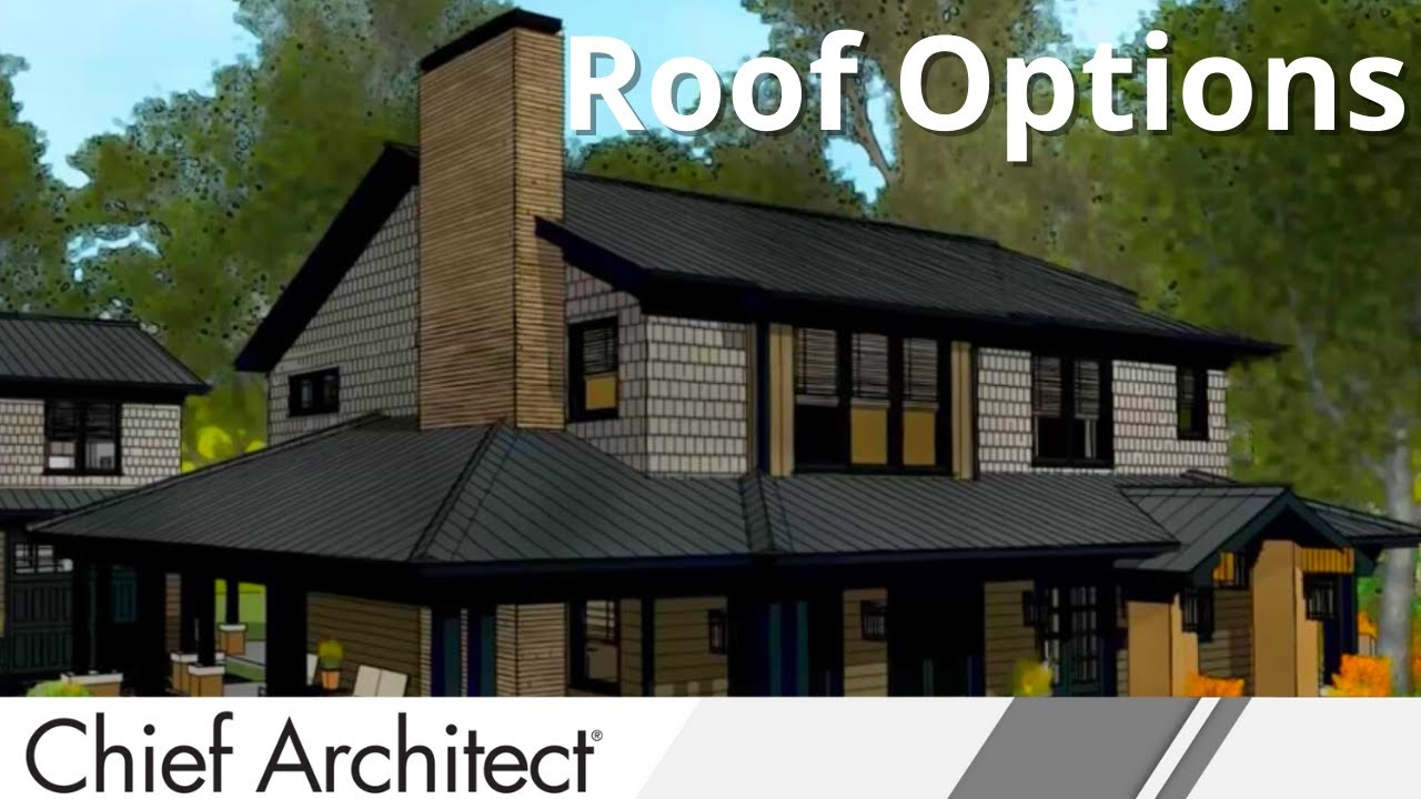 Chief architect roof design tips youtube for Hip roof design software