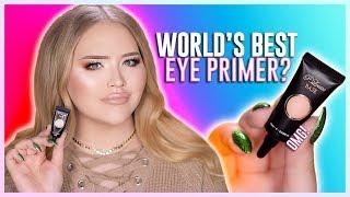 OMG! WORLD'S BEST EYESHADOW PRIMER?? | NikkieTutorials