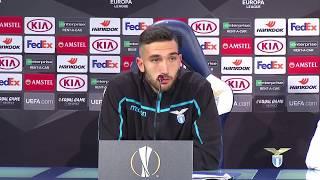 La conferenza stampa di mister Inzaghi e Danilo Cataldi alla vigilia di Lazio-Eintracht