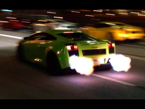 Twin Turbo Gallardo Flybys + FLAMES, Facebook: http://on.fb.me/RHPage Photos: http://razzi.me/robert (more) My Underground Racing Twin Turbo Lamborghini Gallardo doing a couple little flybys in ...